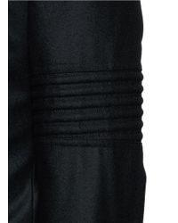 Givenchy - Black Biker Sleeve Wool Blazer for Men - Lyst