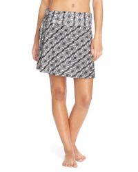 1ccc1cfa12 Lyst - Patagonia 'lithia' Cotton Blend Skirt in Black