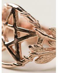 Pamela Love Metallic Pentagram Ring
