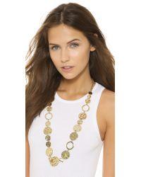 Adia Kibur - Metallic Dawn Necklace - Gold - Lyst