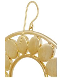 Isharya Metallic Hasina Enameled Gold-Plated Earrings