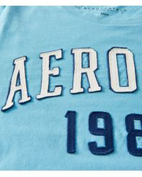 Aéropostale | Blue Aero Ny 1987 Logo Graphic T | Lyst
