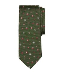 Brooks Brothers | Green Holiday Tie for Men | Lyst