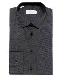Eton of Sweden - Black Contemporary Fit Micro Dot Shirt for Men - Lyst