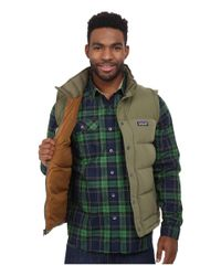 Patagonia | Green Bivy Down Vest for Men | Lyst