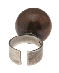 Beth Orduna | Metallic Ball Ring | Lyst