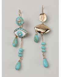 Vivienne Westwood | Blue Apollonia Earrings | Lyst