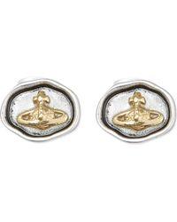 Vivienne Westwood | Metallic Augusta Earrings | Lyst
