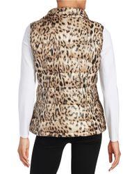 Calvin Klein - Multicolor Printed Puffer Vest - Lyst