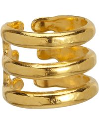 Aurelie Bidermann | Metallic Esteban Ring | Lyst