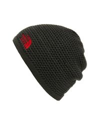 The North Face | Black 'wicked' Beanie for Men | Lyst