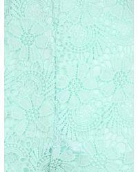 Jane Norman | Green Crochet Shorts | Lyst