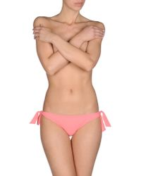 Blumarine - Pink Bikini Bottoms - Lyst