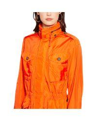 Polo Ralph Lauren - Orange Full-zip Combat Jacket - Lyst