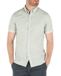 Racing Green - Green Saltaire Short Sleeve Shirt for Men - Lyst