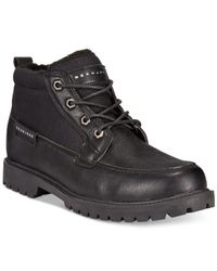 Sean John | Black Kingswood Mid Boots for Men | Lyst