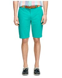 Brooks Brothers | Green Seersucker Bermuda Shorts for Men | Lyst