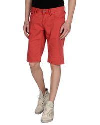 Hilfiger Denim - Red Bermuda for Men - Lyst