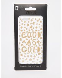 ASOS | Multicolor Christmas Good As Gold Iphone 6 And 6s Case for Men | Lyst