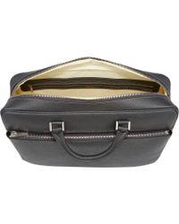 Valextra - Gray Briefcase for Men - Lyst