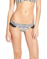 Rip Curl | Black 'moon River Aloha' Bikini Bottoms | Lyst