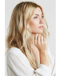 Free People | Green Womens Caged Cuff Ring | Lyst