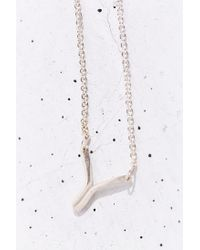 Better Late Than Never Metallic Radial Necklace