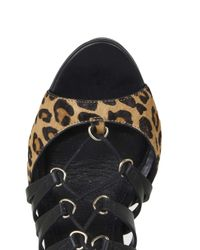 TOPSHOP | Multicolor Ringo D-ring Ghillie Sandals | Lyst