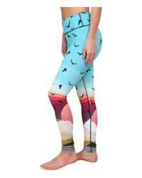 Mara Hoffman - Blue Long Leggings - Lyst