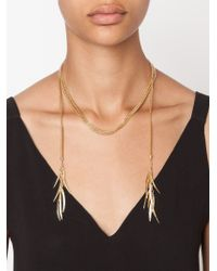 Eddie Borgo | Metallic Pavé Prickle Necklace | Lyst