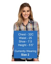 Patagonia   Blue L/s Overcast Shirt   Lyst