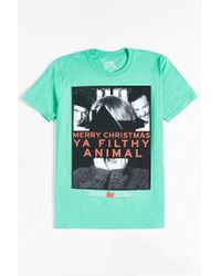 Urban Outfitters | Green Home Alone Filthy Animal Tee for Men | Lyst