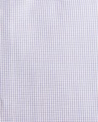 Brioni Pink Micro-check Woven Dress Shirt for men