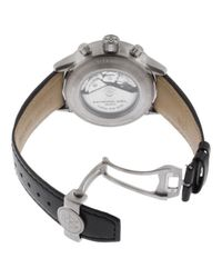 Raymond Weil - Men's Freelancer Auto Chrono Black Leather Grey Dial for Men - Lyst