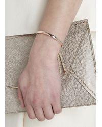 Monica Vinader Metallic Fiji 18Kt Rose Gold-Plated Bracelet