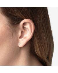 Wwake | Yellow Two-step Earrings | Lyst