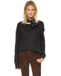 Wildfox - Black Weekday Sweater - Lyst