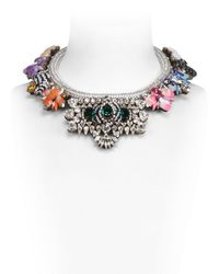 Shourouk | Multicolor Avalon Necklace | Lyst