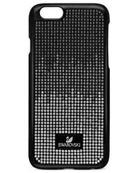 Swarovski - Black Crystalized Plastic Iphone 6 Case - Lyst