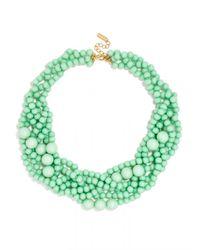 BaubleBar - Green Bubblestream Collar - Lyst
