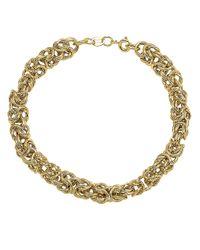 Lord & Taylor   Metallic 14kt Yellow Gold Bracelet   Lyst