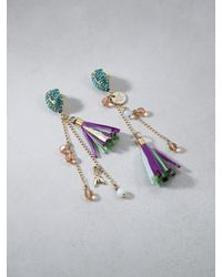 Patrizia Pepe | Multicolor Junk Jewellery Earrings | Lyst