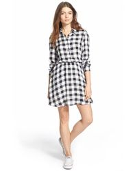 Mimi Chica | Black Shirtdress | Lyst
