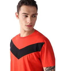 DIESEL - Red T-mayurino-a for Men - Lyst