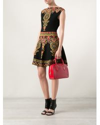 Louis Vuitton Red 'Sablon' Bag