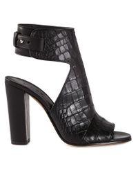 Vince - Black 'Addie' Sandals - Lyst