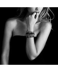 David Yurman - Black Spiritual Bead Bracelet With Diamonds, 8mm - Lyst