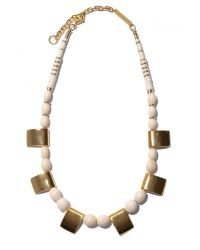 Lizzie Fortunato | Metallic Gold Haze Necklace | Lyst