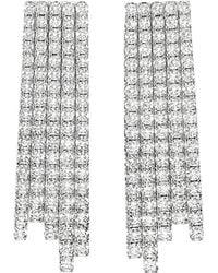 Messika - Metallic Daria 18ct White-gold And Diamond Drop Earrings - Lyst