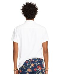 Denim & Supply Ralph Lauren | White Camouflage Cotton Sport Shirt for Men | Lyst